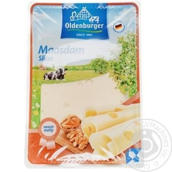 Oldenburger Maasdamer cheese slices 45% 150g