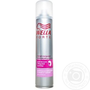 Лак для волосся Wella Forte для середньго 250мл