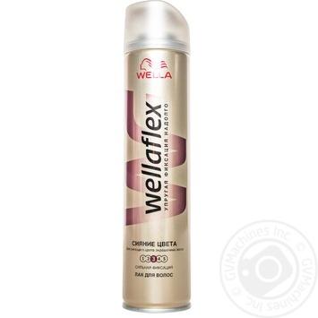 Лак Wellaflex Сяйво кольору для волосся 250мл