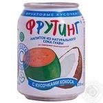 Напиток Фрутинг с соком гуавы и кусочками кокоса 238мл