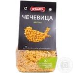 Groats lentils Yarmarka Platinum yellow 350g sachet Russia