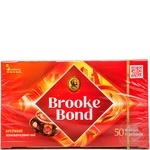 Black pekoe tea Brooke Bond 50х1.8g teabags Russia