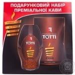 Кава Тотті Роберто Нобель Рістретто арабіка натуральна розчинна сублімована 100г Росія