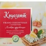 Crispbread Kruazett rye-wheat with sesame 200g Russia