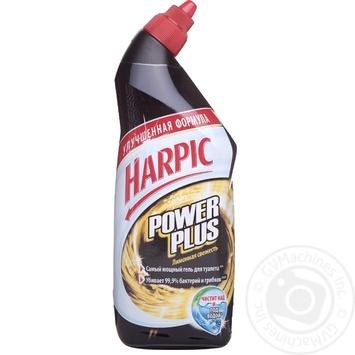 Засіб Harpic Power Plus Лимонна свіжість для чищення унітазів 750мл
