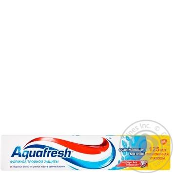 Зубная паста Aquafresh Освежающая мятная 125мл