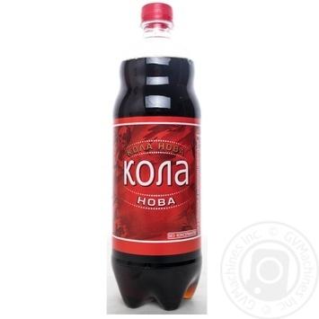 Напиток безалкогольный Кола Нова сильногазированый 1л