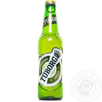 Пиво Tuborg Green светлое 330мл