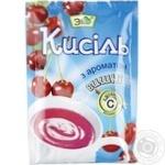 Kissel Eko cherry for desserts 90g packaged