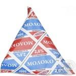 Молоко Вита пастеризованное 2.6% 500г тетрапакет Украина