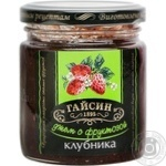 Jam Gaisyn strawberries with cream for diabetics 270g