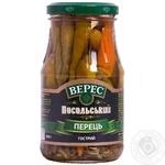 Vegetables pepper Veres pickled 280g glass jar