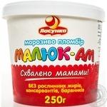 Морозиво пломбір Малюк-АМ Ласунка 250г