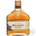 Cognac Bolgrad 40% 250ml glass bottle Ukraine