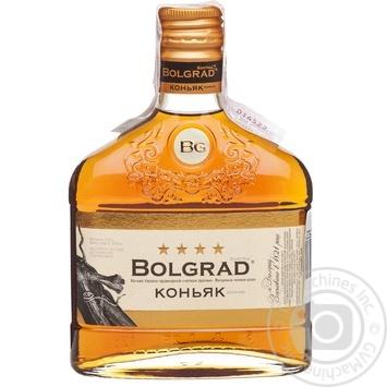 Коньяк Украины Bolgrad ординарный 4* 0,25л - купить, цены на Фуршет - фото 1