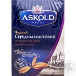 Tea Askold black loose 100g cardboard packaging