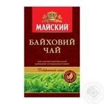 Чай черный Майский Байховый цейлонский высокогорный среднелистовой 85г