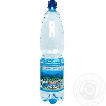 Вода мінеральна негазована Шаянська Джерельна Цілющі криниці 1,5 л