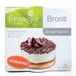 """Сирний десерт ТМ """"Creamoire"""" 9,6%. Бронті (Bronti) 105 грам"""