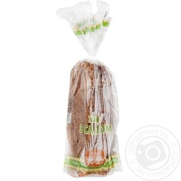 Хліб Рум'янець З салом нарізка 400г Україна