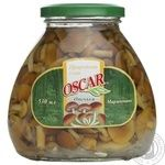 Mushrooms honey fungus Oscar canned 530g glass jar Ukraine