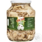 Mushrooms Oscar cut 2300g glass jar Poland