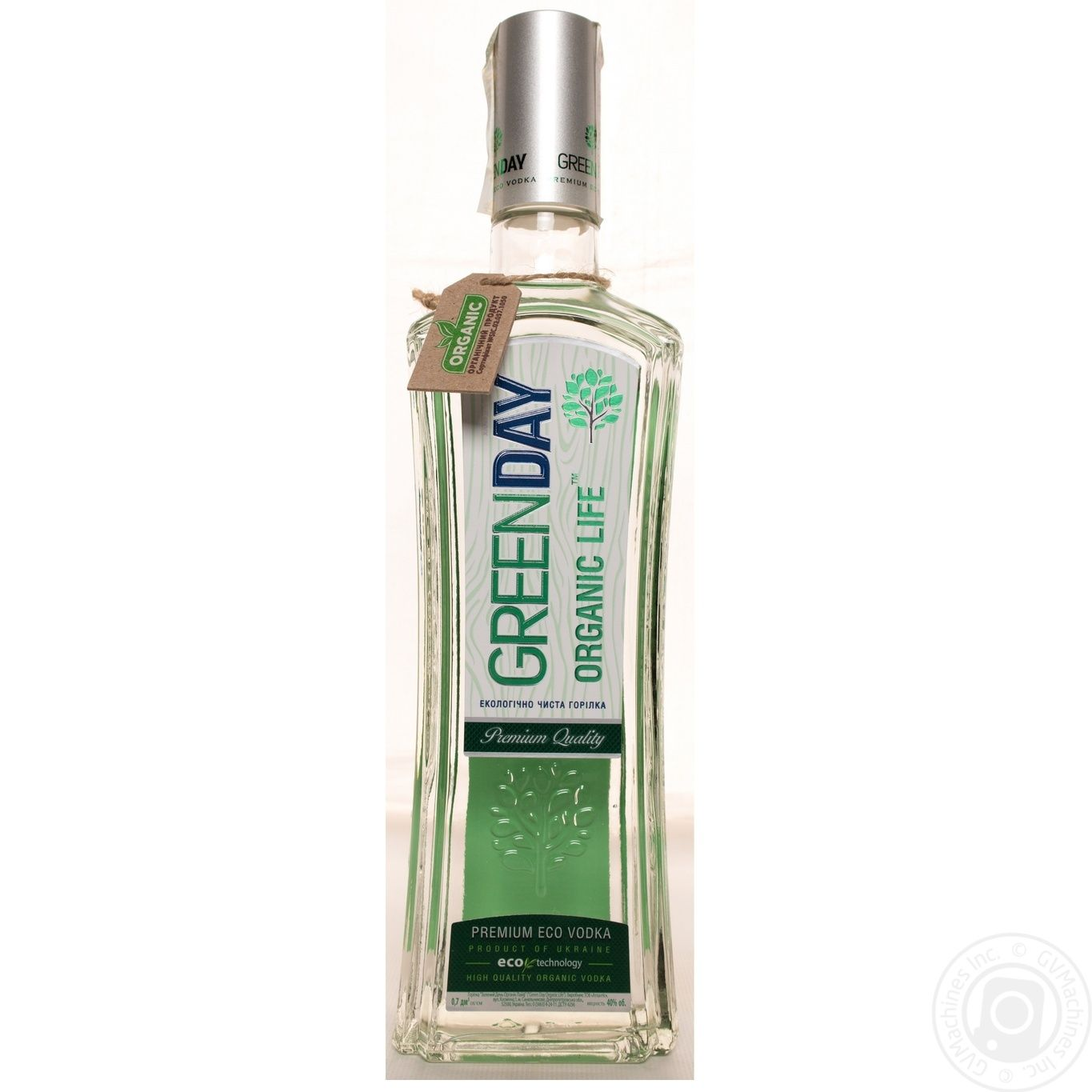 Green Day Organic Life Vodka