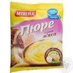 Пюре картофельное Мівіна со вкусом мяса 37г