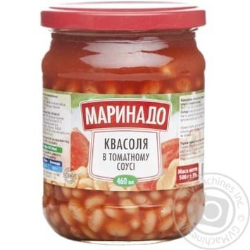 Скидка на Фасоль Маринадо в томатном соусе 500г