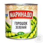 Vegetables pea Marinado canned 420g