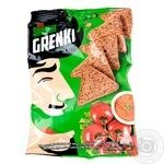 Гренки Snekkin ржаные со вкусом томата спайси 70г