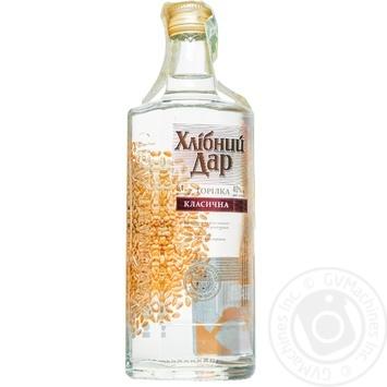 Khlibniy Dar Classic Vodka - buy, prices for Auchan - photo 1