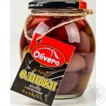 Оливки Olivero Асорті з кісточками бочкові 350г