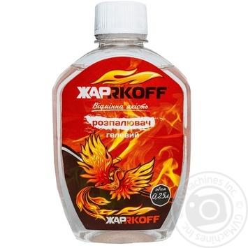 Разжигатель гелевый JARKOFF 250мл - купить, цены на Фуршет - фото 1