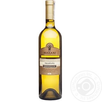 Вино Marani Цинандали белое сухое 0,75л