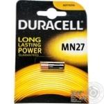 Батарейки алкаліновi Duracell 12V 1шт MN27