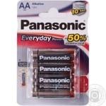 Батарейки Panasonic Everyday Power алкалінові AA LR6 4шт