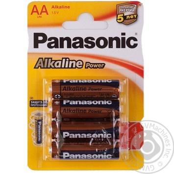 Батарейки Panasonic LR6 Alkaline Power AA 4шт - купити, ціни на ЕКО Маркет - фото 1