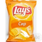 Чипсы Lay's картофельные со вкусом сыра 133г  Украина