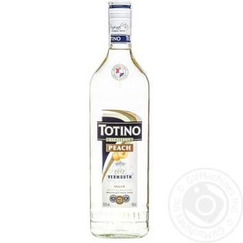 Вермут Totino Peach 1л
