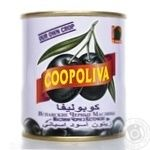 olive Coopoliva black with bone 212ml can