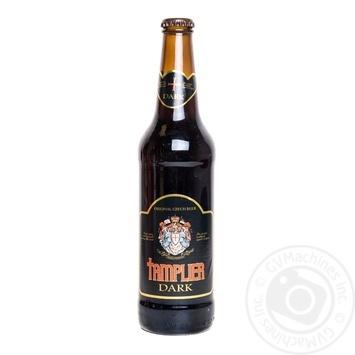 Пиво Тамплиер темное 5%об. стеклянная бутылка 500мл Чехия