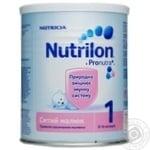 Суміш молочна Нутриція Нутрилон 1 Ситий малюк суха для дітей з народження до 6 місяців залізна банка 400г Нідерланди
