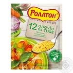 Приправа Роллтон універсальна 12 овочів та трав 80г