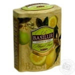 Tea lime black 100g can