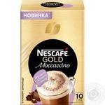 Напиток кофейный Nescafe Gold Moccaccino растворимый в стиках 10*15г