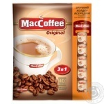 Maccoffee 3in1 with coffee instant beverage 110*20g