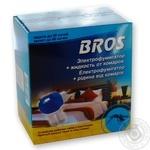 Электорофумигатор Bros+жидкость от комаров 60 ночей