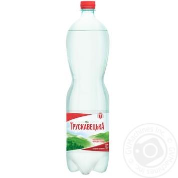 Мінеральна вода Трускавецька сильногазована 1,5л - купити, ціни на Novus - фото 1