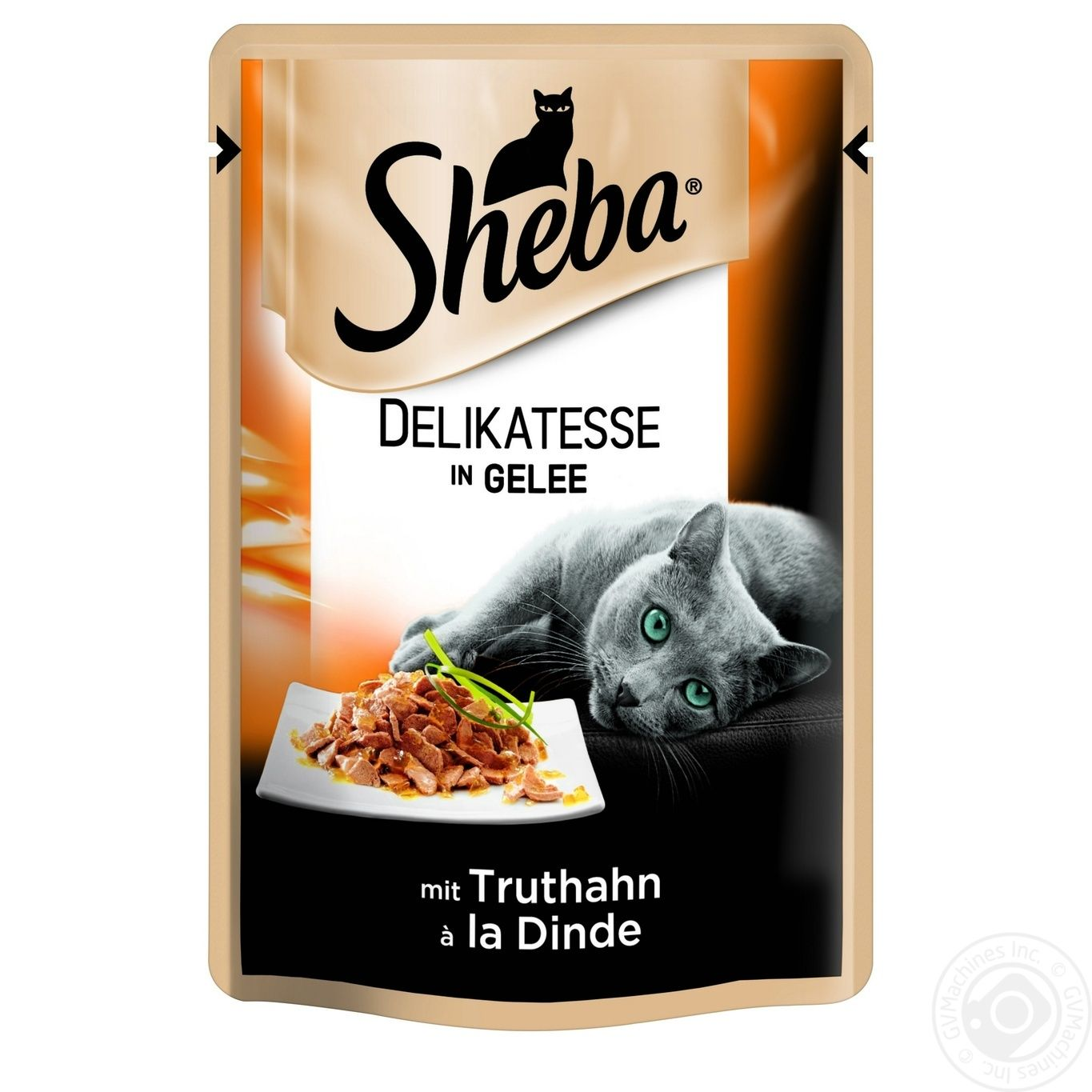Food Sheba turkey in jelly for cats 85g
